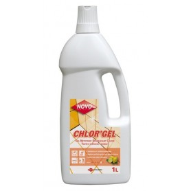 Gel javel surfaces sanitaires - Flacon 1L