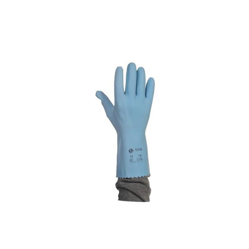 gants latex bleu sur jersey la paire. Black Bedroom Furniture Sets. Home Design Ideas