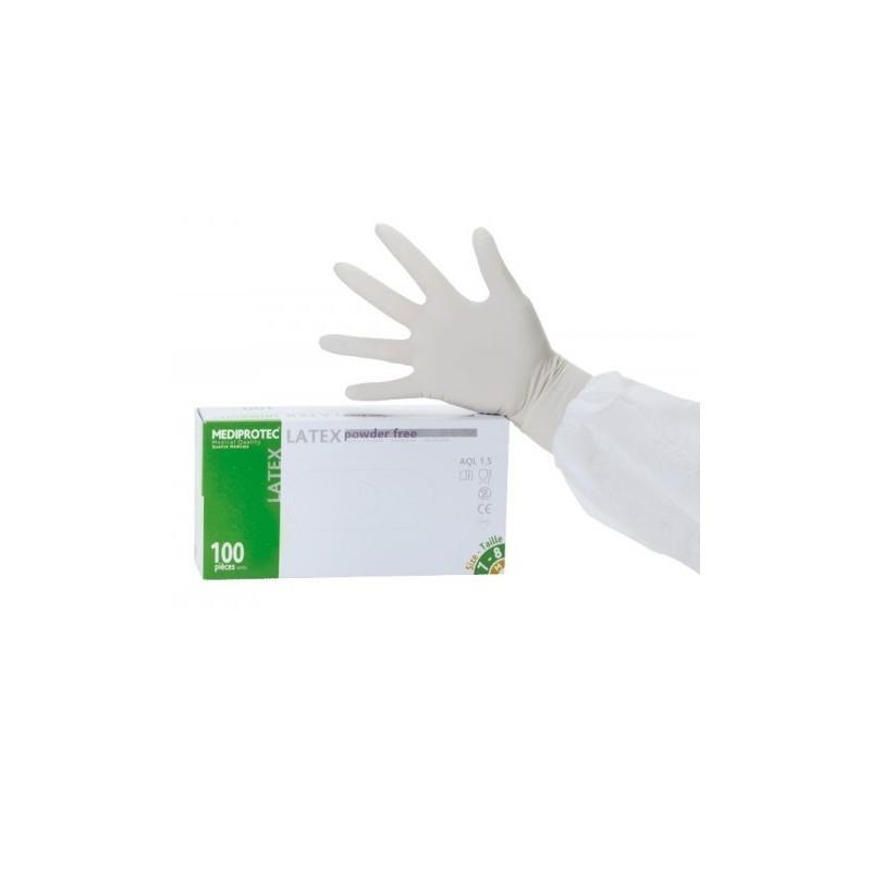 gants latex non poudr halvea boite de 100. Black Bedroom Furniture Sets. Home Design Ideas