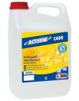 Dégraissant Désinfectant Chloré Actisène C400- Bidon de 5 Litres