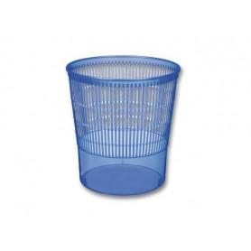 Corbeille à papier 13 L Bleue - Unité