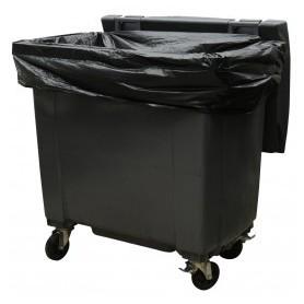 Housse container 1100 Litres Renforcé Noir - Colis de 50