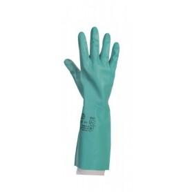 Gant de ménage nitrile vert - Sachet de 10 paires