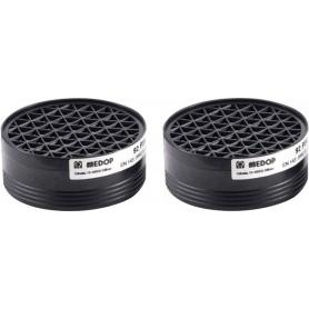 Filtres pour masque respiratoire EN140 - Lot de 2