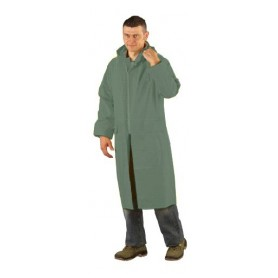 Manteau de pluie doublé vert - Unité