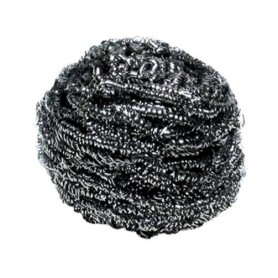 Eponge boule inox 60 gr - Sachet de 10