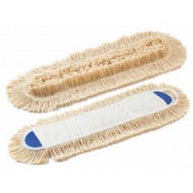 Frange coton 80 cm pour balai simple - Unité