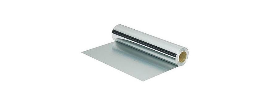 Film, aluminium et papier cuisson
