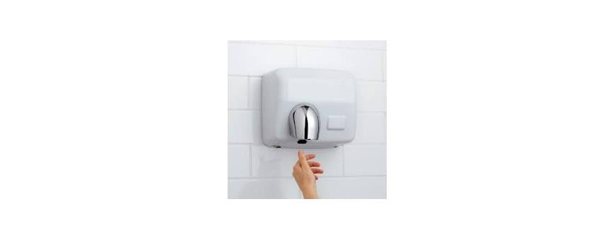 Sèches mains à air chaud