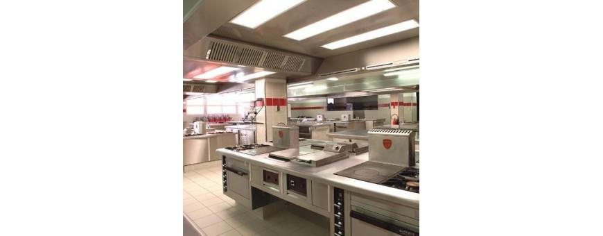 Produits et consommables pour cuisines, restaurants et brasseries.