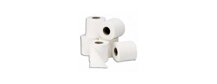 Ouate et papier d'essuyage, papier toilette et essuie-mains